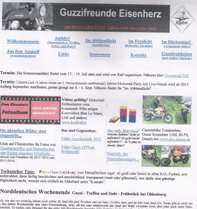 1. Webseite